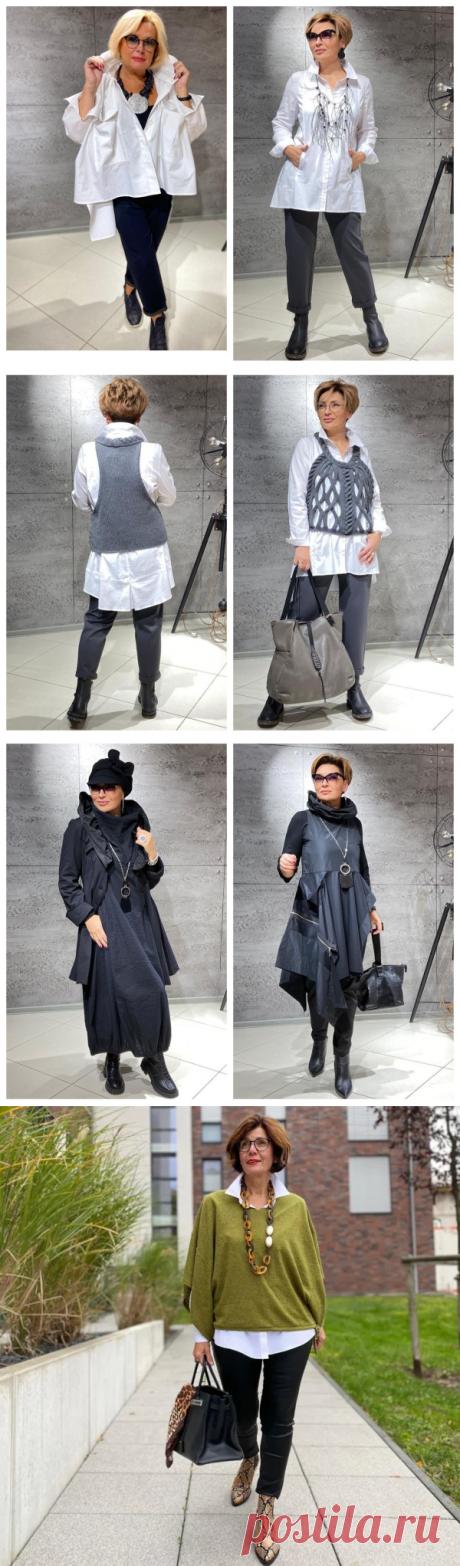 Стильные, оригинальные фасоны одежды для дам элегантного возраста: 12 сногсшибательных образов | Школа стиля 50+ | Яндекс Дзен