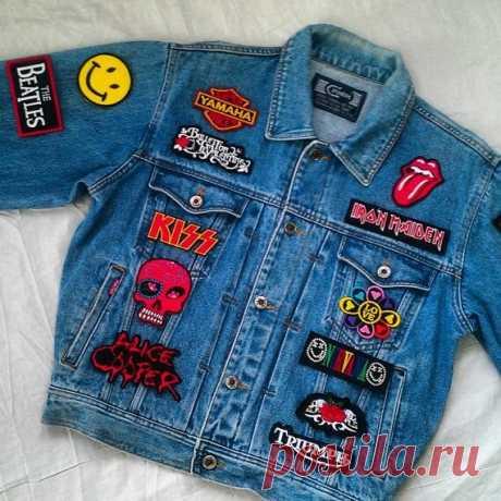 13 способов оформления джинсовой куртки | Записки из шкафА | Яндекс Дзен