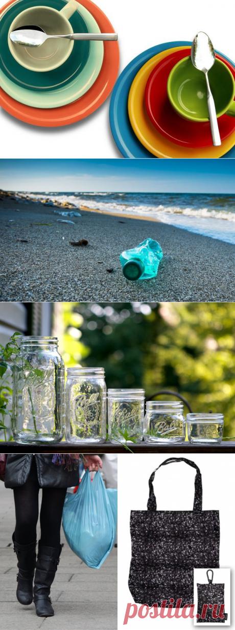 Как отказаться от пластика? 10 способов уменьшить количество пластика в вашей жизни - Экологический дайджест FacePla.net