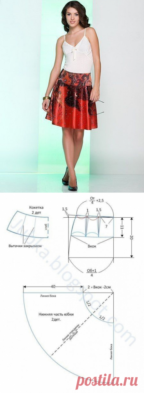 Skirt the semi-sun on the coquette