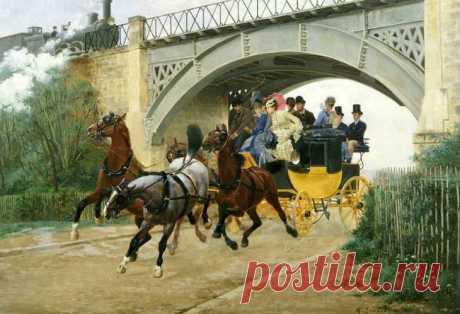 Jean Richard Goubie (French, 1842-1899)- французский живописец