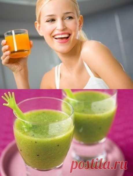 Список лучших натуральных соков, которые помогают коже оставаться здоровой и красивой.