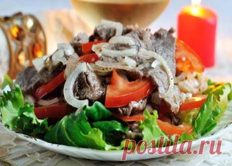 Почти классический мясной салат «ШАБУ-ШАБУ» — Вкусные рецепты