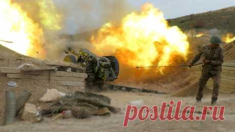 26.10.20-Азербайджан обвинил Армению в срыве перемирия в Карабахе - Газета.Ru   Новости