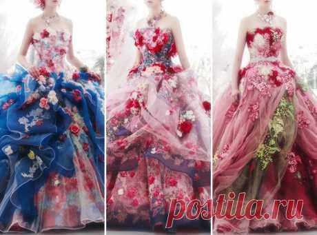 Шикарные платья — Красота и мода