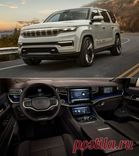 Новые Jeep Wagoneer и Grand Wagoneer: в чем разница? | AUTOSPAWN