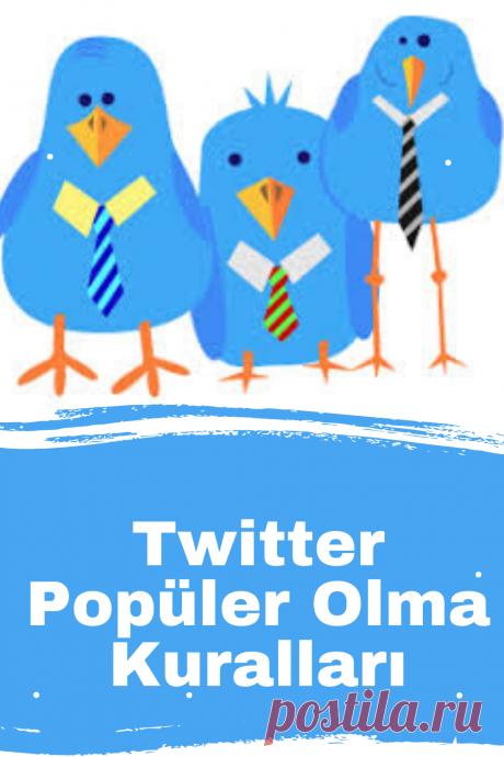 Twitterde Popüler Olma Kuralları Twitter takipçi sayınızı artırmanız için yapmanız gereken kurallar. 1. Gün İçinde Yeterli Sayıda Tweet Yazın: Uygun gördüğünüz her saatte twit yazabilirsiniz.Bir günde kaç Tweet yazılması gerektiğinin her kes tarafından kabul görmüş bir cevabı yoktur.Tüm Twitter kullanıcılarının günlük Tweet ortalaması 4,22′dir.   #twitter,#twitteraracları,#twitterayarları