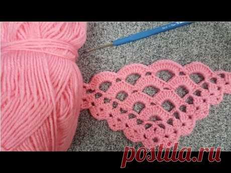 Заполненный крючком узор шали и вязаный узор