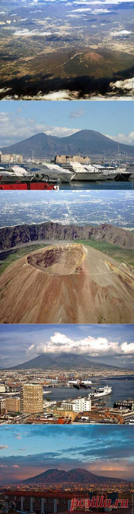 Вулкан Везувий в Италии, фото вулкана Везувий