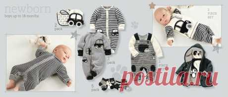 Unisex Mono   Newborn Boys & Unisex   Boys Clothing   Next Official Site - Page 1