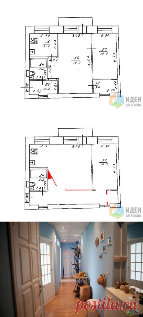Перепланировка и ремонт в двухкомнатной хрущевке, дизайн и ремонт квартиры своими руками, мебель Икеа в интерьере, кухня-гостиная в хрущевке, фото | Идеи для ремонта