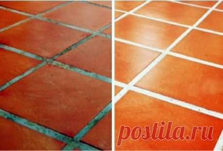 Как легко прочистить швы между плиткой? — Полезные советы
