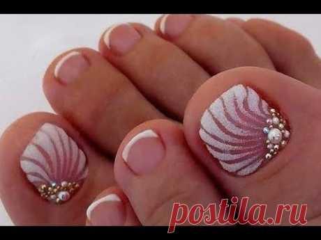 New Pedicure Nails Tutorial✔The Best Nail Art Designs (Beauty&Ideas Nail Art)