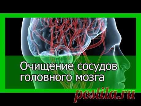 Clarification of vessels of a brain folk remedies