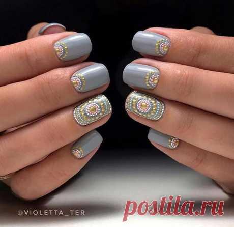 Дизайн ногтей дотсом: 30 креативных рисунков на любой форме ногтей