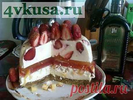 Творожный тортик   4vkusa.ru