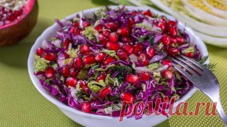 Пять легких салатов без майонеза на каждый день!