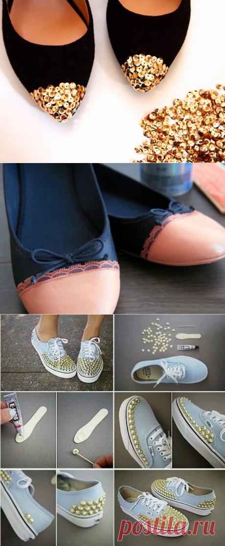 Как обновить старую обувь | Делимся советами