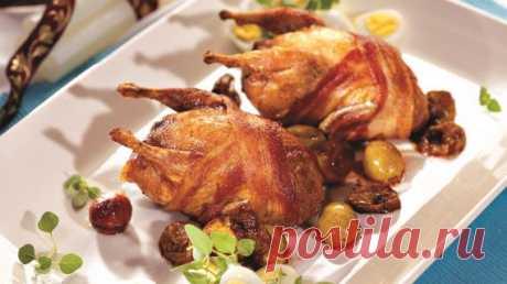 Перепела с виноградом и перепелиными яйцами, пошаговый рецепт с фото Перепела с виноградом и перепелиными яйцами. Пошаговый рецепт с фото, удобный поиск рецептов на Gastronom.ru