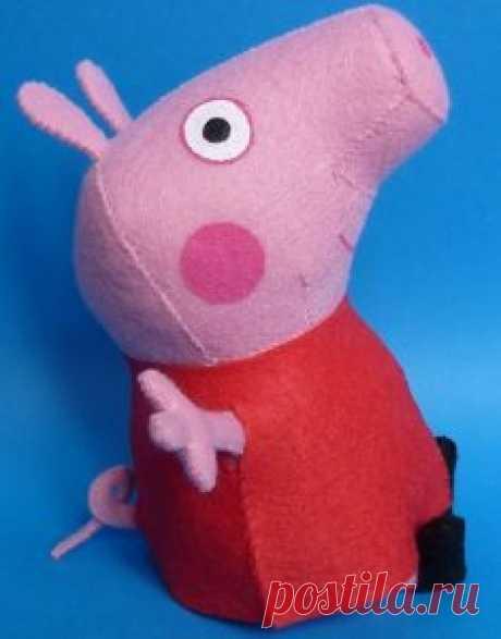 (+2) Свинка Пеппа (шитье, игрушки, выкройка)