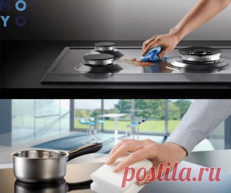 Чем и как мыть плиту из нержавеющей стали — инструкция в 3 разделах