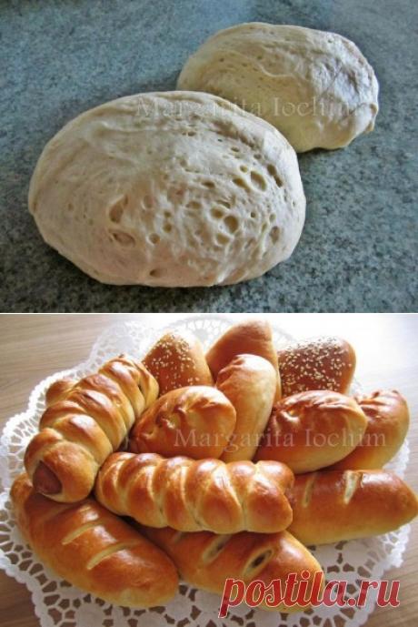 Воздушное дрожжевое тесто для духовых пирогов