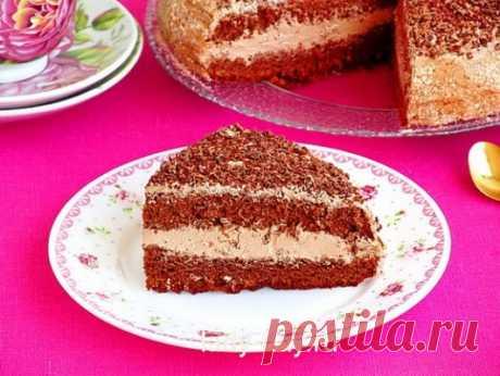 La torta «la sinfonía De chocolate» la receta | las recetas Simples de la foto