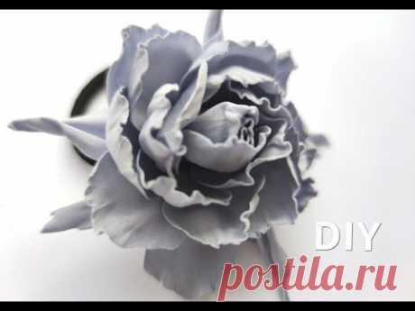 Красивый Цветок из Фоамирана ЗА 5 МИНУТ 🌸🌸🌸Без Молодов и Шаблонов