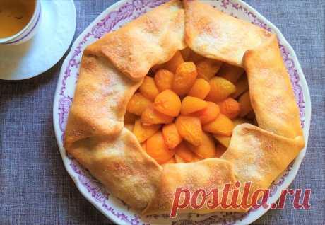 Галета с абрикосами | Поделки, рукоделки, рецепты | Яндекс Дзен