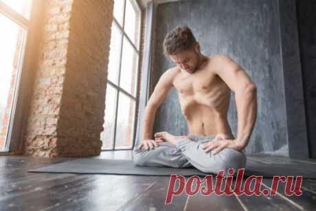 Йога-массаж внутренних органов как профилактика их опущения