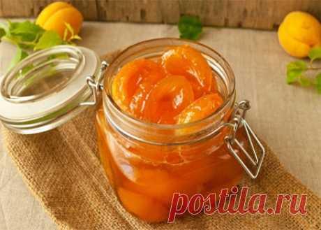 Рецепт варенья из абрикосов дольками — MEGOCOOKER