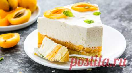 Песочный торт с абрикосами, пошаговый рецепт с фото