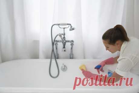 Методы очистки ванной: налет, ржавчина, потемнение — Полезные советы