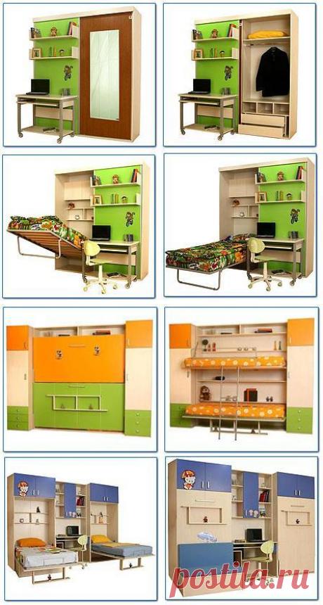 Мебель-трансформер в малогабаритную квартиру