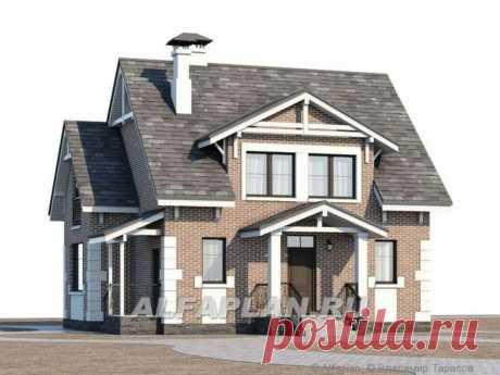 Проект экономичного дома 521B «Боспор»,120м2, 4 спальни | Популярные проекты домов Альфаплан | Яндекс Дзен