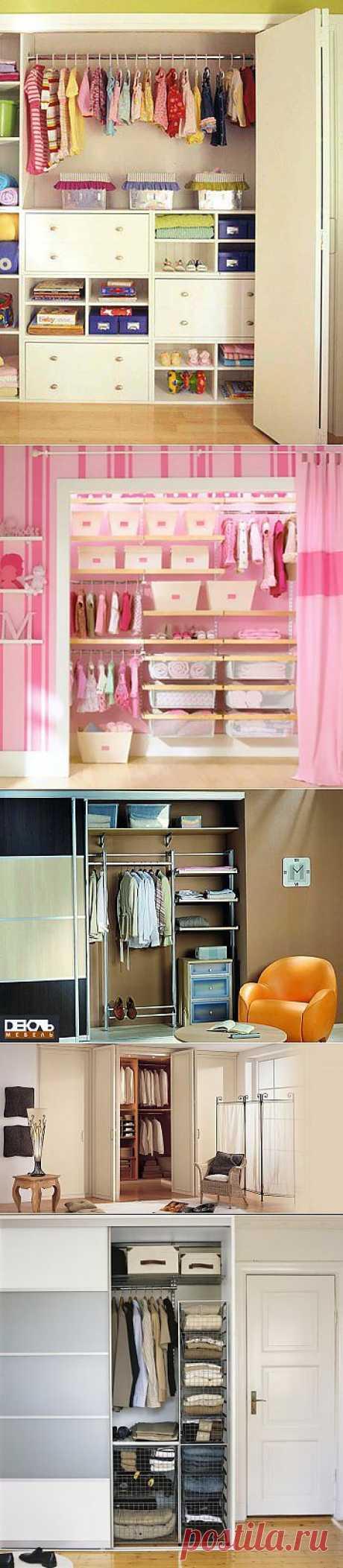 Варианты мини гардеробных | МОЙ ДОМ