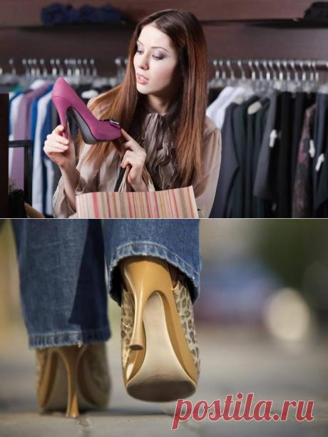 Обувь, которая визуально удлиняет ноги