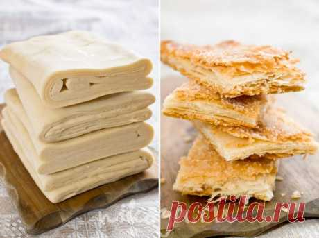 """Puff pastry \""""on the contrary\"""" 