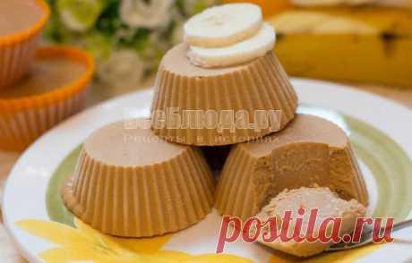Творожное мороженое крем-брюле за 7 минут с вареной сгущенкой | Все Блюда