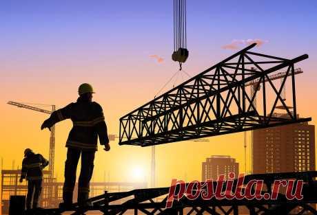 construction of bridges, houses. crossings