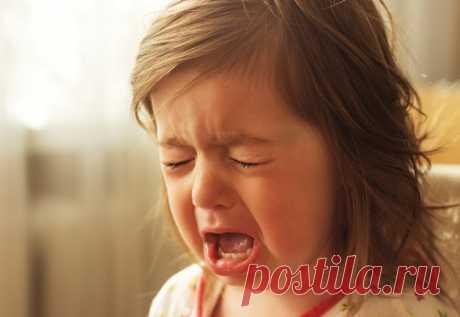 Детская истерика: что делать, советы врачей