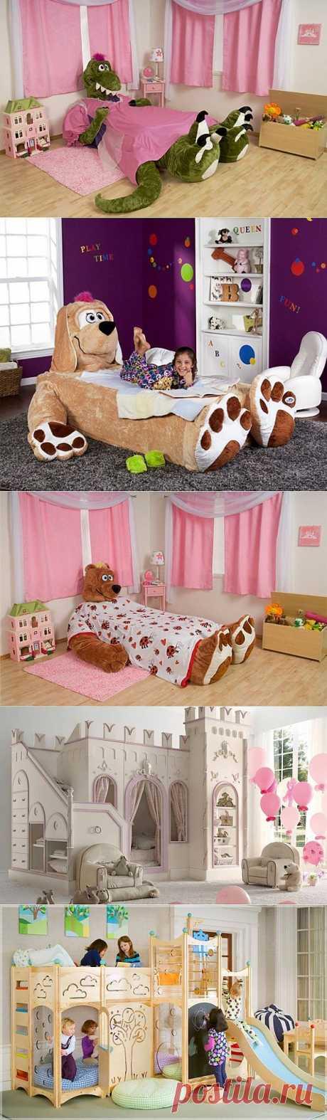 5 необычных детских кроватей