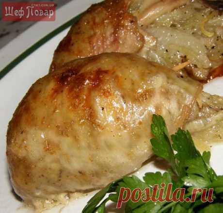 Картофель с грибами, запеченный в куриной коже / Октоберфест / Рецепты / Шеф-повар – простые и вкусные кулинарные рецепты, фото-рецепты, видео-рецепты