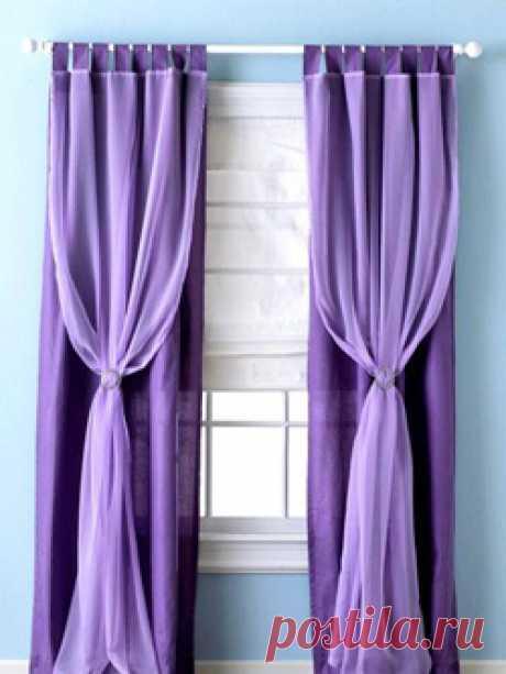 Как красиво повесить шторы: 50 фото интерьер штор