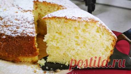 Тот самый Итальянский пирог 12 ложек. Можно готовить без весов, отмеряя все нужные ингредиенты ложкой   Розовый баклажан   Яндекс Дзен