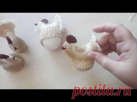 Курочка крючком - Пасхальный сувенир. Детская библиотека