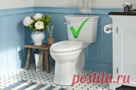 Как легко сохранять чистоту туалета — Полезные советы