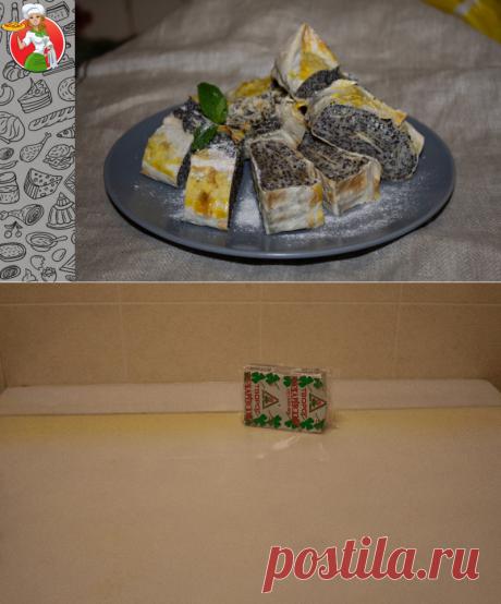 Маково-творожный рулет из лаваша: удивите гостей быстрым и необычным десертом | Рецепты от Джинни Тоник | Яндекс Дзен
