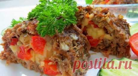 Очень вкусное и нарядное блюдо! Котлета по-эстонски Pikk Poiss