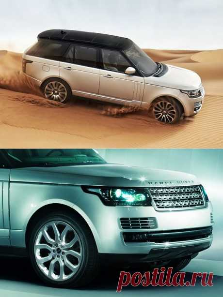 The fourth generation of Range Rover 2013 was received by Evoque style.